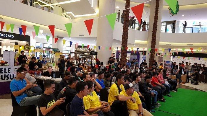 Nobar Piala Dunia di Atrium Pentacity, Ada Live Music Band Lokal, Begini Suasananya