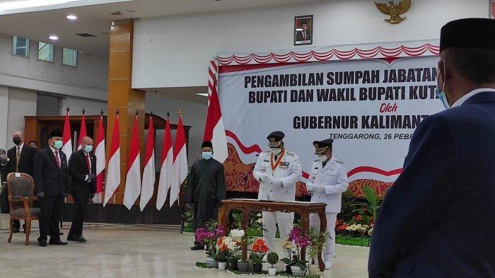 Edi Damansyah dan Rendi Solihin Resmi Jabat Bupati dan Wakil Bupati Kukar