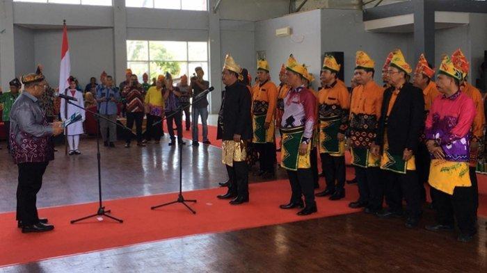 Syarifuddin HR Resmi Pimpin Kerukunan Bubuhan Banjar di PPU, Kembangkan Budaya Banjar di IKN