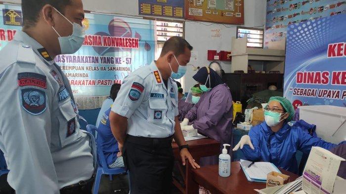 Dinkes Kukar Gelar Screening TB-HIV di Lapas Tenggarong, Sebanyak 400 Warga Binaan Jalani Tes