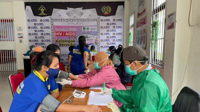 Antisipasi Penyakit IMS, 360 Warga Binaan Lapas Perempuan Tenggarong Jalani Screening HIV-Sipillis
