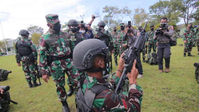 Terjunkan 120 Prajurit TNI Pilihan, Kodam VI Mulawarman Gelar Latihan Tempur Bareng US Army