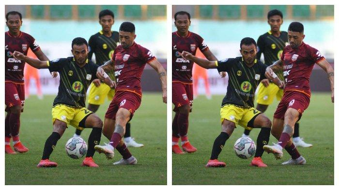 Babak Pertama Borneo FC vs Barito Putera Berakhir Tanpa Gol