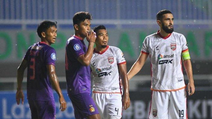 Gol Tunggal Adi Eko Jayanto Bawa Persik Kediri Unggul Atas Borneo FC