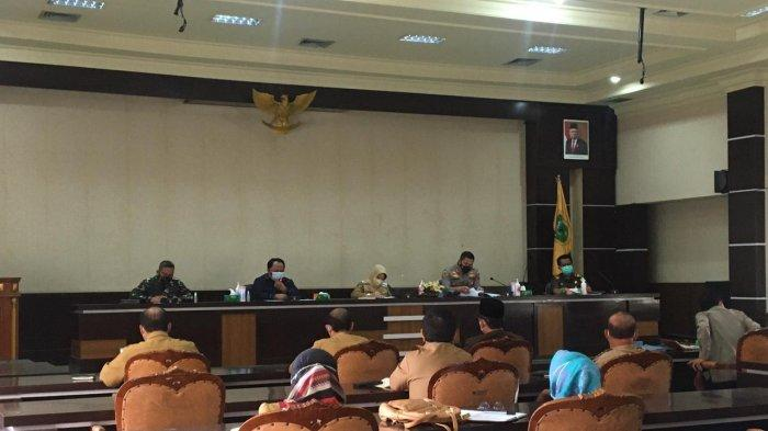 Gelar Rapat Evaluasi Covid-19, Bupati Perpanjang PPKM Hingga Tanggal 20 Juli 2021