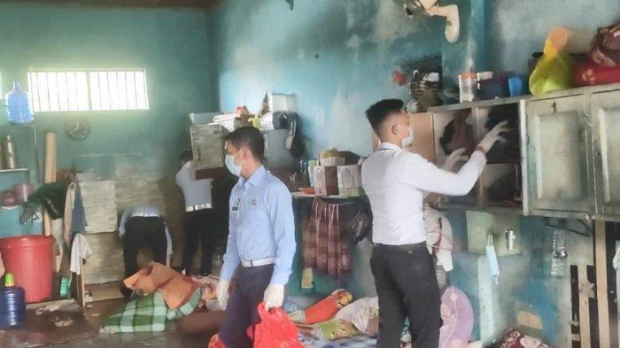 Gelar Razia Kamar Hunian, Petugas Lapas Tenggarong Temukan Beberapa Barang Terlarang
