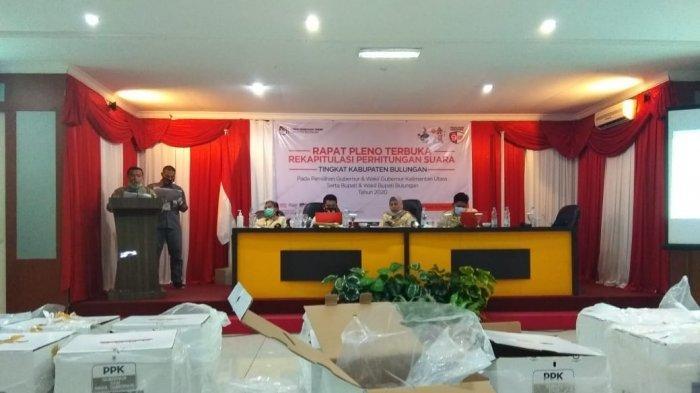 KPU Bulungan Gelar Rapat Pleno Rekapitulasi Suara Tingkat Kabupaten