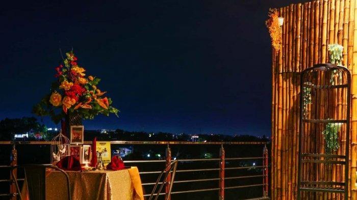 TRIBUN TRAVEL Bingung Ajak Dinner Pacar Hari Valentine Day? Yuk Dinner di Rooftop Bamboo Garden