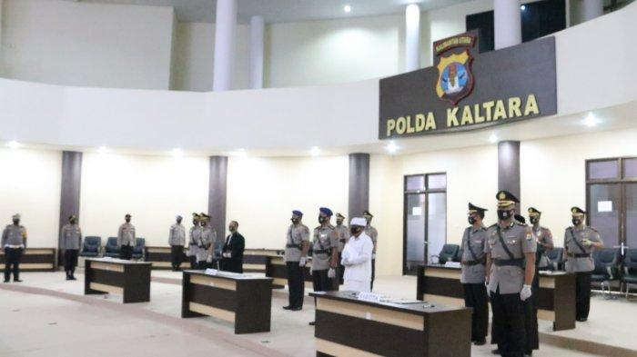 Sempat Tertunda Gegara Penerbangan, Kapolda Kaltara Pimpin Sertijab Sejumlah Perwira Menengah