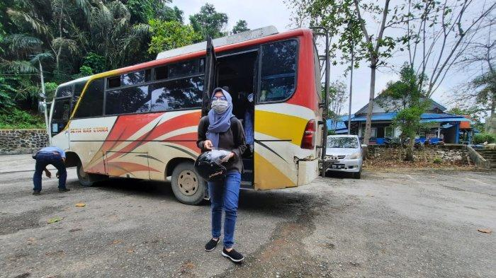 Arus Balik Lebaran di Terminal Lempake Masih Lengang, 3 Bus Berangkat ke Bontang dan Sangatta