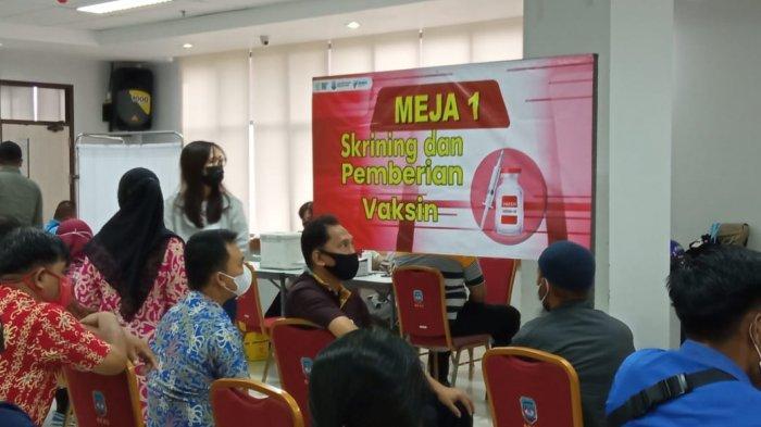 Jelang Tatap Muka pada Juli 2021, Ratusan Guru di Kaltara Disuntik Vaksin Covid-19