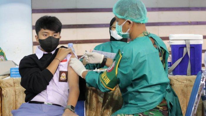 Pelajar Diimbau tak Takut Vaksin Covid-19, Gubernur Kaltim Isran Noor: Kalian Diselamatkan Negara