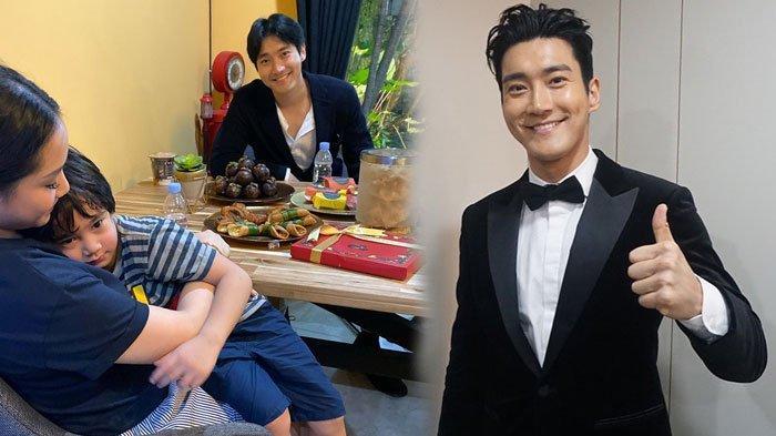 Sudah Seperti Warga Lokal, Siwon Main ke Rumah Raffi Ahmad, Disuguhi Makanan Khas Indonesia