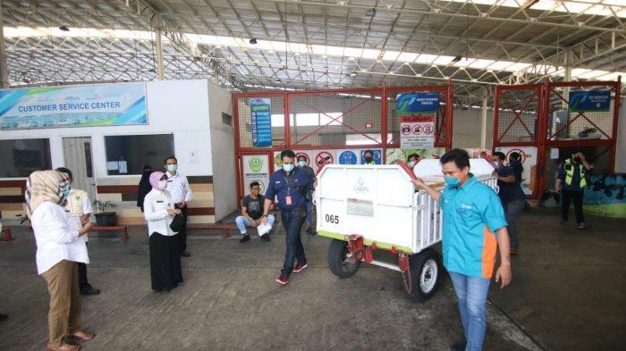 Hari Ini 7.680 Vial Vaksin Tiba di Kaltim, Lusa Dibagikan ke-10 Kabupaten/Kota, 1 Vial 10 Orang