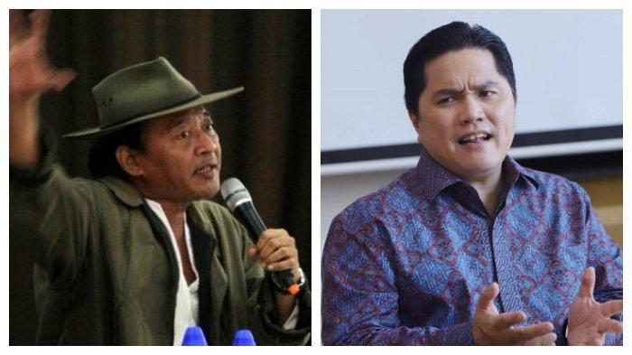 Di Depan Karni Ilyas Sudjiwo Tedjo Minta Erick Thohir Keluar Kabinet Jokowi 'Jadi Menteri Keteteran'