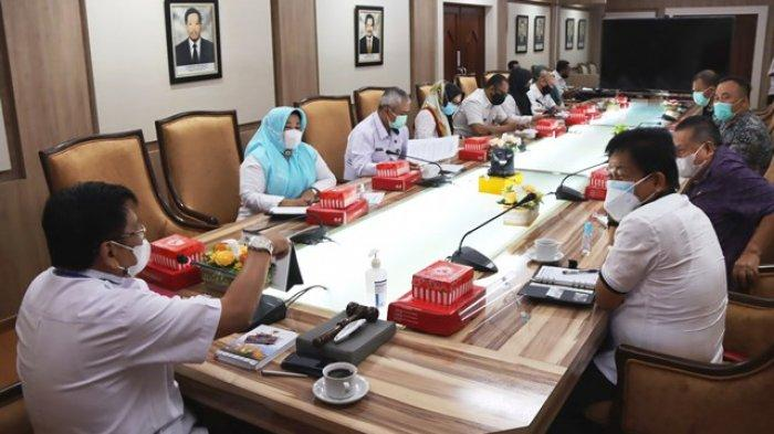 Sejumlah anggota DPRD Sulawesi Utara melakukan pertemuan dengan DPRD Kaltim.