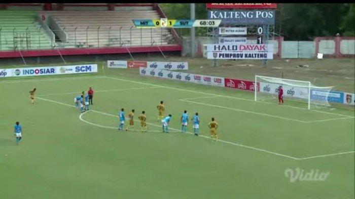 Tanggapan Pelatih Mitra Kukar soal Eksekusi Penalti Anindito yang Gagal