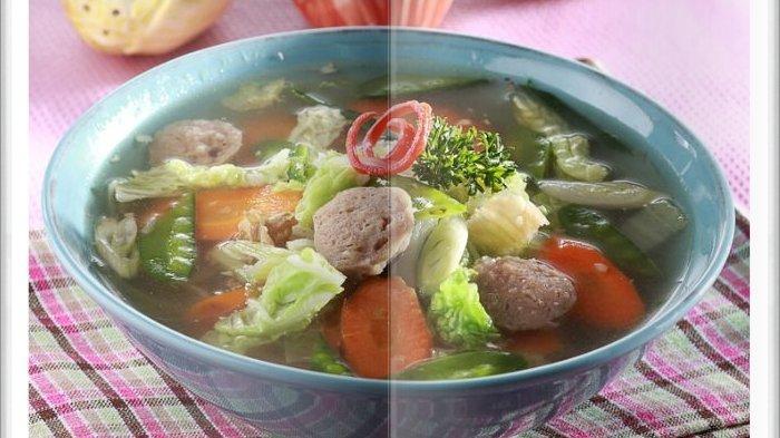 Cara Bikin Sup Bakso Tongcai Super Enak, Jadi Menu Makan Siang dengan Kuah yang Super Gurih