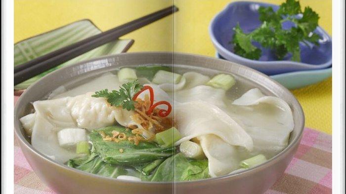 Cara Bikin Sup Pangsit Pokcoy Super Enak, Menu Berkuah Sangat Cocok Jadi Sajian Makan Siang