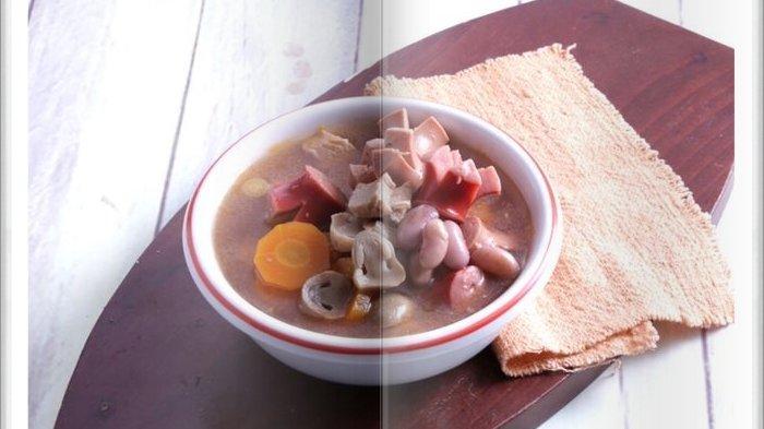 Cara Bikin Sup Sosis Jamur Tomat Super Enak, Menu Berkuah Cocok untuk Makan Siang Keluarga Hari ini