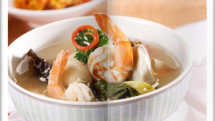 Cara Bikin Sup Udang Tiga Jamur Super Enak, Sajian Berkuah Sangat Cocok untuk Menu Makan Siang