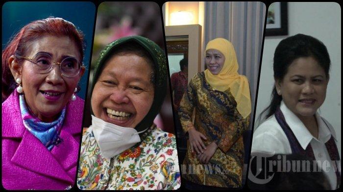 Survei ARSC, Daftar Nama Capres Perempuan, Ada Susi Pudjiastuti, Risma, Khofifah hingga Istri Jokowi