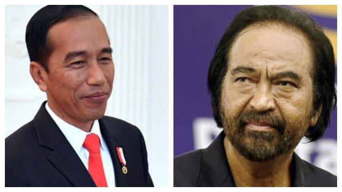 Bertemu Langsung Surya Paloh, Jokowi Memohon Adik Iparnya tak Direkomendasikan Nasdem Ikut Pilkada