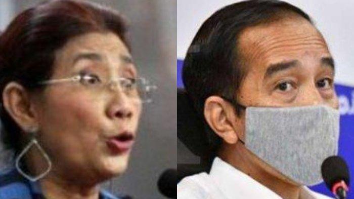Tak Tinggal Diam, Susi Pudjiastuti Langsung Balas Cuitan Twitter Jokowi, Singgung Ujaran Kebencian