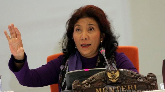 Jawaban Menteri Susi saat Dituduh tak Bisa Shalat dan Makan Uang Rakyat