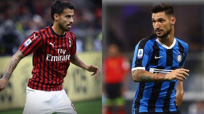 Wonderkid Timnas Italia Cedera, Winger AC Milan Suso dan Pemain Inter Milan Menuju AS Roma