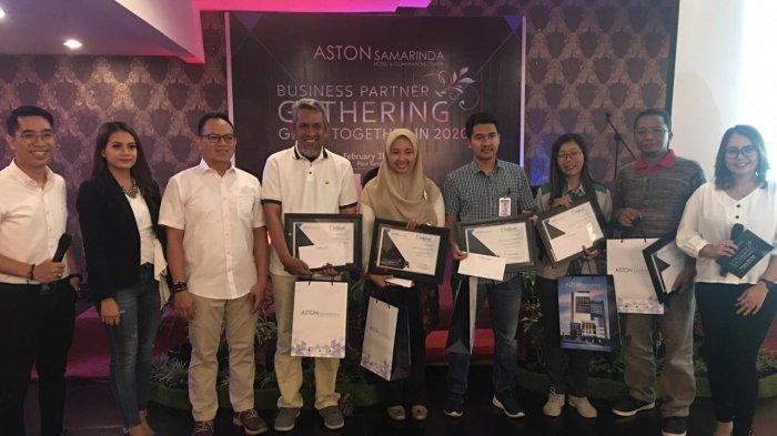 Aston Samarinda Hotel & Convention Center Gelar Bussiness Partner Gathering, Bagi-bagi Voucher