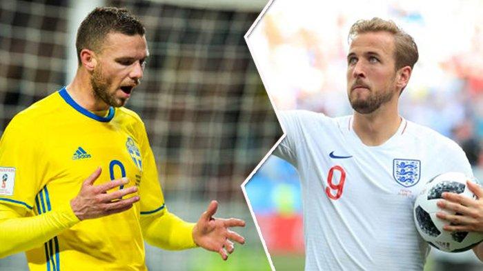 BIG MATCH Swedia vs Inggris, Berikut Prediksi Skor dan Line-up Jelang Kick Off