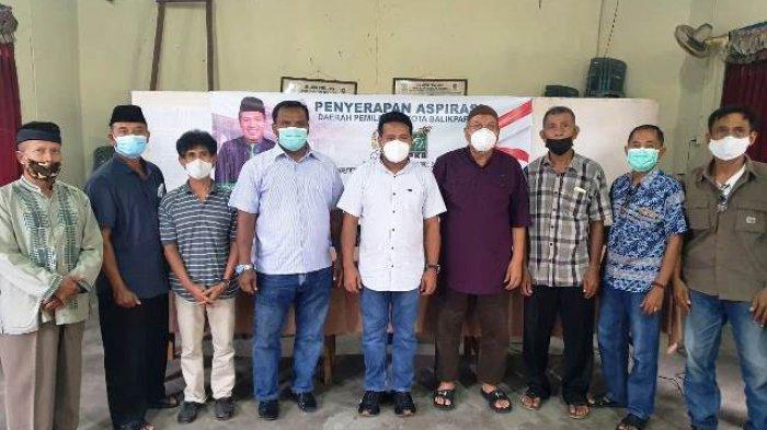 Reses di Balikpapan Timur, Syafruddin Dapat Keluhan Warga Soal Air Bersih dan Jalan Lingkungan