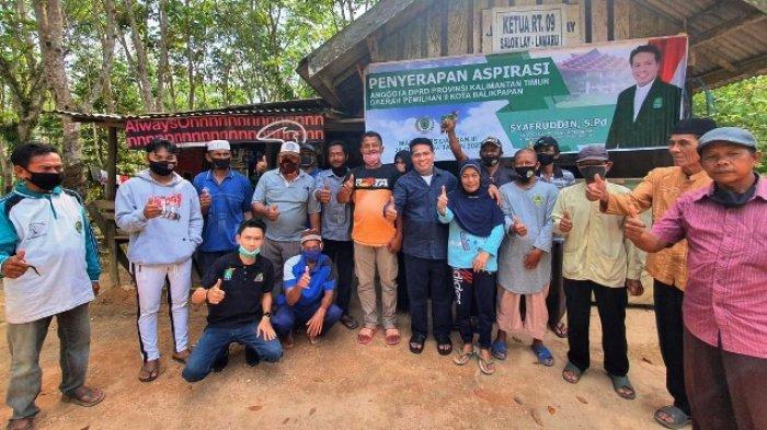 Terisolasi di Tengah Kepungan Modernisasi, Kampung Salok Lay Balikpapan Perlu Jalan dan Air Bersih