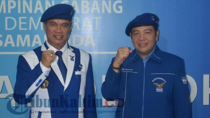 Bentuk Loyalitas ke AHY, Mantan Walikota Samarinda Ini Langsung Temani Ketua Umum ke Kemenkumham