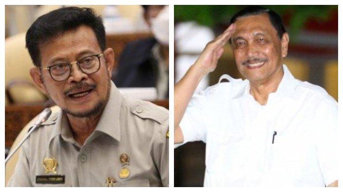 Ada Apa dengan Luhut? Jokowi Mendadak Tunjuk Syahrul Yasin Limpo Jadi Menteri KKP Ad Interim