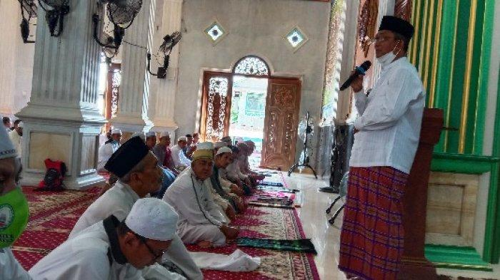 Kunjungi Melak, Pjs Bupati Syirajudin Ajak Masyuarakat Jaga Kamtibmas dan Patuhi Protokol Kesehatan