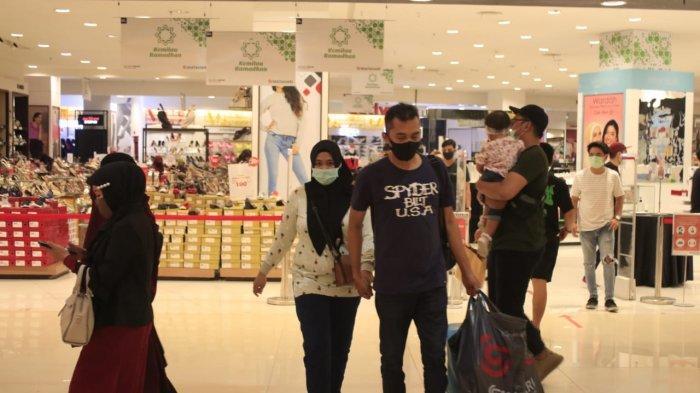 Di Tengah Pandemi Corona Pusat Perbelanjaan di Samarinda Mulai Ramai, Dinkes Kota Angkat Bicara