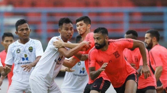 Menang Lawan Tim PON Kaltim, Pemain Borneo FC Dinilai Mulai Paham Taktik yang Diterapkan