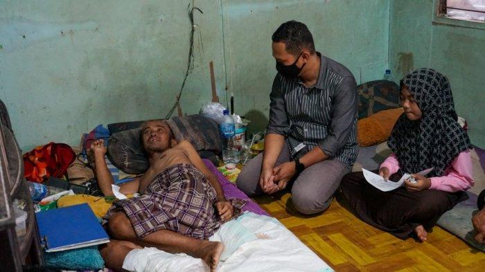 Warga Kutai Timur Ini Terbaring Lemah Digerogoti Sakit Gula Sampai Ditinggal Istri Tercinta