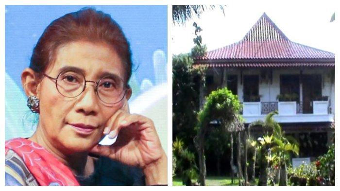Tak jadi Menteri Jokowi, Intip Rumah Mewah Susi Pudjiastuti di Pangandaran, Ada Flight Simulator