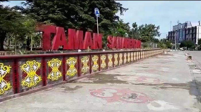 Taman Samarendah saat ini yang menghabiskan Rp 30 miliar