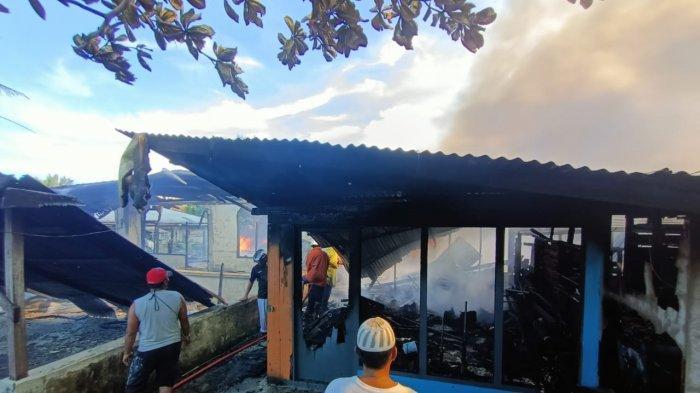 Dugaan Awal Sumber Kebakaran di Tarakan Karena Korsleting Listrik, Total 13 KK Jadi Jadi Korban