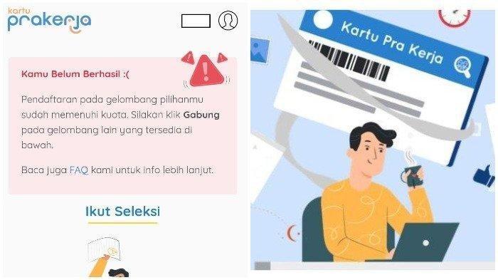 Resmi, Pendaftaran Kartu Prakerja Gelombang 12 Dibuka, Kuota 600 Ribu Peserta, Login prakerja.go.id