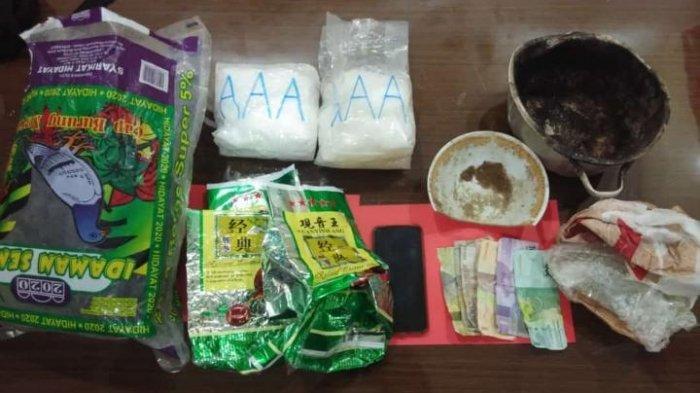 Satresnarkoba Polres Nunukan Kembali Ungkap Dua Kasus Narkoba, Amankan 3,589 Kg Sabu