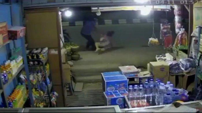 Viral Aksi Jambret Tarik Seorang Ibu Hingga Terseret yang Terekam CCTV, Begini kronologinya