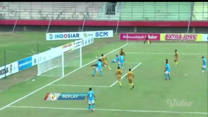 Babak Kedua Sulut United Gempur Pertahanan Mitra Kukar hingga Hasilkan Satu Gol, Skor Jadi 0-1