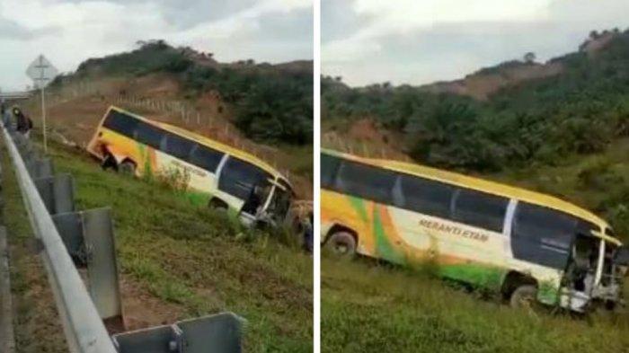 Kecelakaan Bus di KM 65 Tol Balikpapan-Samarinda, JMTO Sebut Tak Ada Korban Jiwa