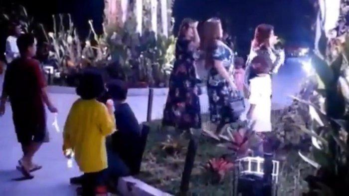 VIRAL, Video Aksi Tak Pantas Tiga Perempuan Joget di Taman Kota Raja Tenggarong