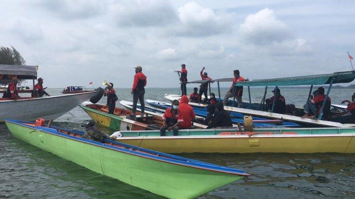 Warga Desa Tanjung Limau Kukar Unjuk Rasa soal Rencana Pengalihan Kapal Pandu ke PT Pelindo